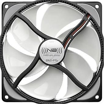 NoiseBlocker NB-eLoop ITR-B12-PS PC ventilator wit/zwart (W x H x D) 120 x 120 x 25 mm
