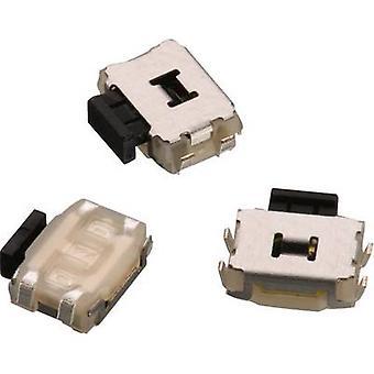 Würth Elektronik WS-TUS 434333045822 Druckknopf 12 V DC 0.05 A 1 x Off/(On) momentan 1 Stk.(s)