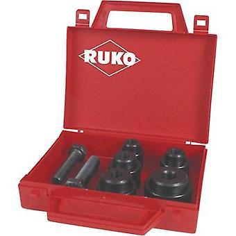 RUKO 109015 Sheetmetal punch set