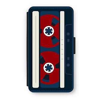 iPhone XS フリップ ケース - ここのテープ
