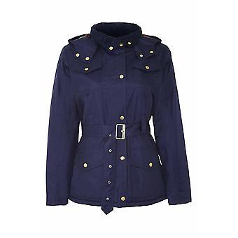 بطل البلد الحوزة النسائية برايمار الرمز البريدي الحزام & هود معطف الشتاء