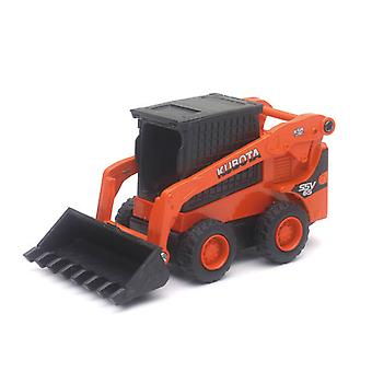 Die-Cast 1: 64 scala, Kubota SSV65 con Pull Back Action