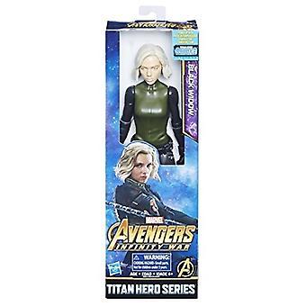 Avengers verwonderen Infinity War Titan held serie zwarte weduwe met Titan held voedingspoort FX