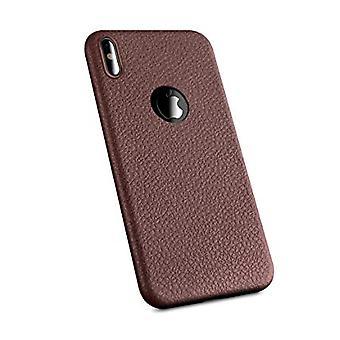 Skinn telefon veske-iPhone XS