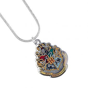 Harry Potter argento placcato collana Hogwarts