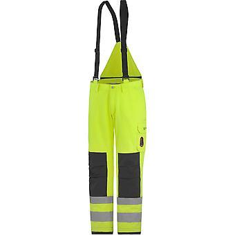 Helly Hansen Mens Aberdeen geïsoleerd Hi Vis werkkleding broek-tuinbroek