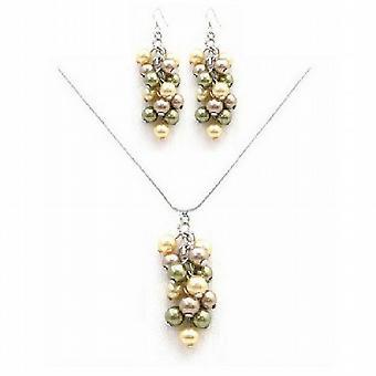 Benutzerdefinierte legen Sie Ihren Schmuck Weintraube Perlen Collier