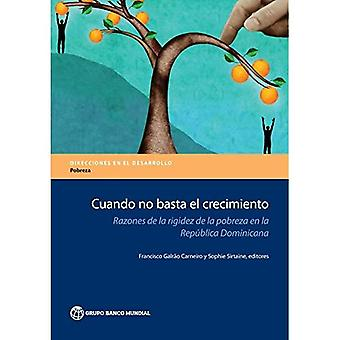 Cuando ei basta el crecimiento: Razones de la rigidez de la pobreza Fi la Republica Dominicana (ohjeet kehittäminen - köyhyyden)