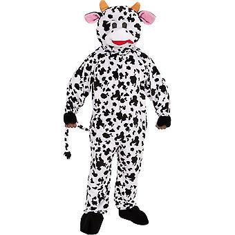 Costume de la mascotte vache adulte