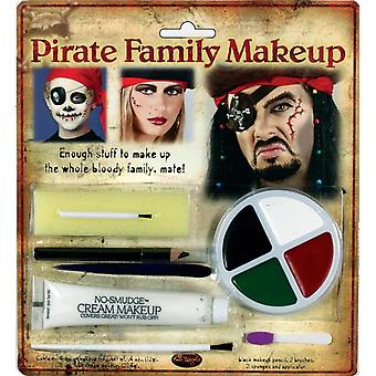 Pirate perheen Makeup Kit