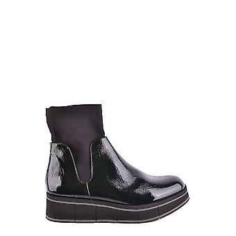 Paloma Barceló Ezbc129003 Dames's Black Leather Enkellaarzen