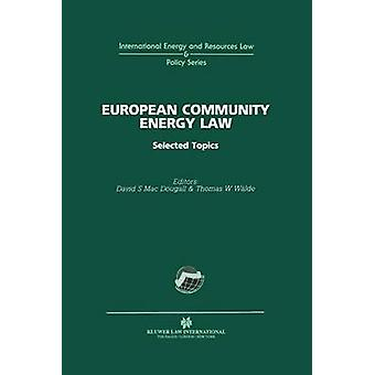 Euroopan yhteisön energia oikeus, jonka MacDougall & David S.