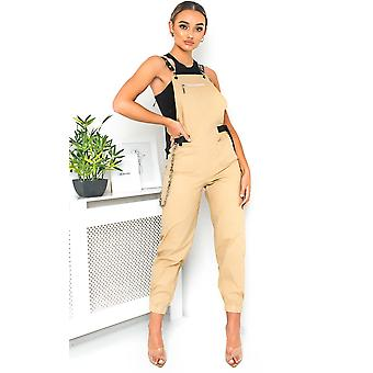 IKRUSH Womens Lolita Dungaree Jumpsuit