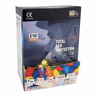 sUw - Ear Plug Dispenser Refill Pack Orange regelbundna