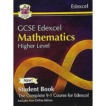 Nuevo grado GCSE de 9-1 Matemáticas estudiante de Edexcel libro - superior (con E Online