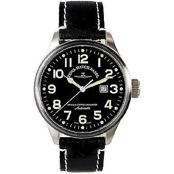 Zeno-horloge mens kijken OS pilot automatische chronometer 8554C-a1