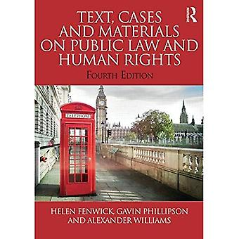 Text, Fälle und Materialien für öffentliches Recht und Menschenrechte