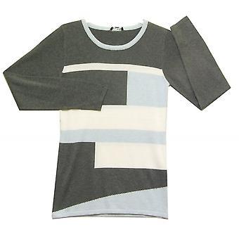 MARBLE Sweater 5105 Ice Blue O Grey