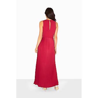 Little Mistress Womens/Ladies Madison Embellished Waist Maxi Dress