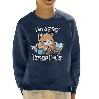 Camisola pro Dormouse Procrastinator Kid ' s
