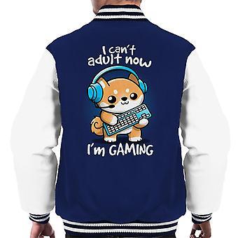 Gamer Doge Gaming Men's Varsity Jacket