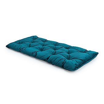 Loft 25 lussuosa schiuma di velluto Crumb tufted singolo materasso futon-Mallard