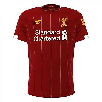 2019-2020 Liverpool Home Football Shirt