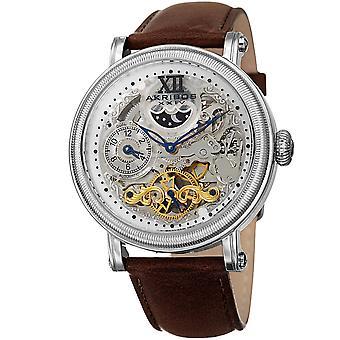 Akribos XXIV Men es Quartz Matte Dail Armband Watch AK968SSBR