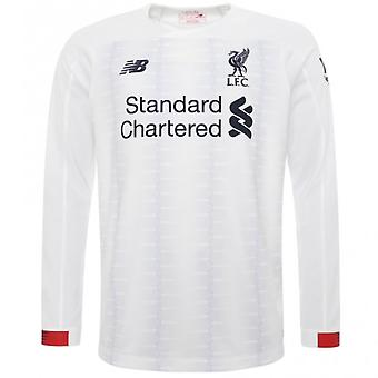 2019-2020 Liverpool Away camisa de manga comprida