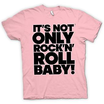 Kids T-shirt - It's Not Only Rock n Roll Baby