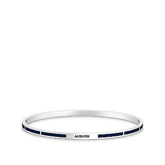 Auburn University Bracelet In Sterling Silver Design by BIXLER