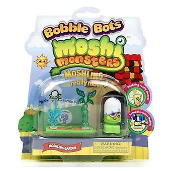 Moshi Monster Bobble Bots; Figure and Flower Assortment