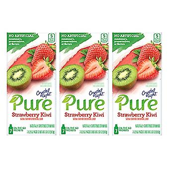 Cristallo Leggero Pure Fragola Kiwi Bevanda Mix 3 Pack