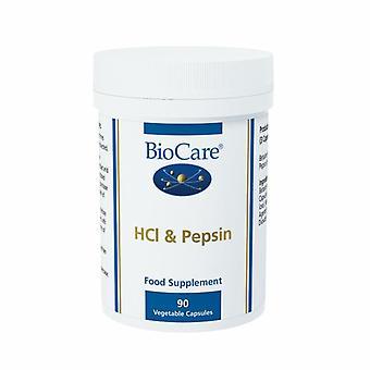 BioCare HCL e Pepsin Vegicaps 90 (22490)