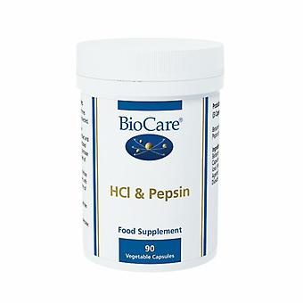 BioCare HCL & Pepsin Vegicaps 90 (22490)