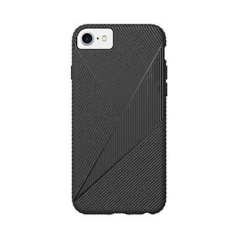 Verizon Textured Silicone Gel Case for Apple iPhone SE2/8/7/6/6s - Black