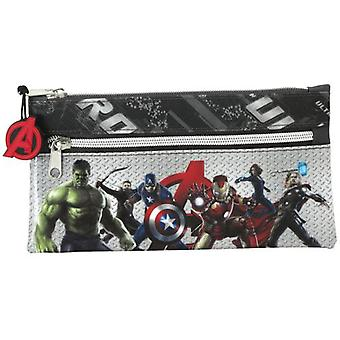 Safta Two Zippers Avengers Case (Babies and Children , Toys , School Zone)