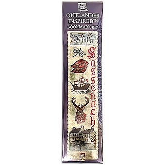 Textile Heritage Counted Cross Stitch Bookmark - Outlander Inspired