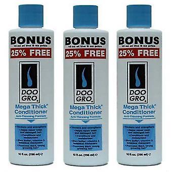 Doo Gro Mega Thick Anti Thinning Conditioner 296ml (3-pack)