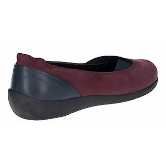 The Flexx Womens/Ladies Camp Fires Nubuck Leather Slip On Shoe