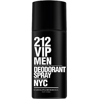 Carolina Herrera 212 VIP mænd Deodorant Spray 150ml
