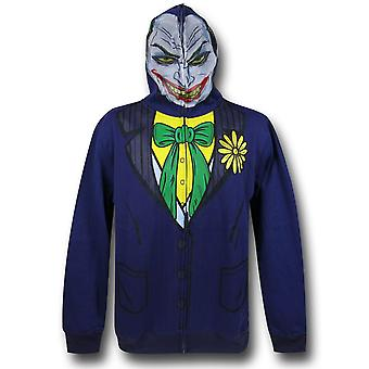 Joker Face Costume Bluza z kapturem Zip-Up