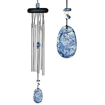 Lapis Lazuli Chakra Wind Chime Large from Woodstock