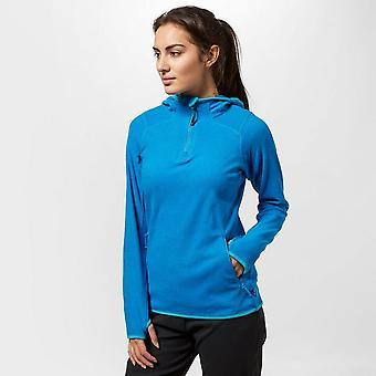 New Technicals Women's Sprint Half Zip Hoody Blue
