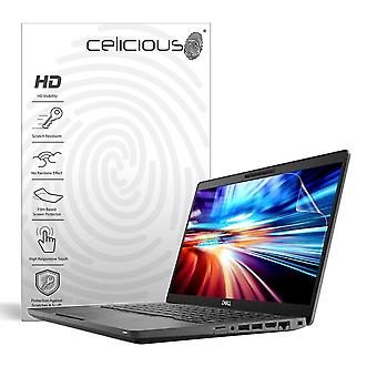 Celicious Vivid Invisible Glossy HD Screen Protector Film Compatible with Dell Latitude 14 5400 (Non-Touch) [Pack of 2]