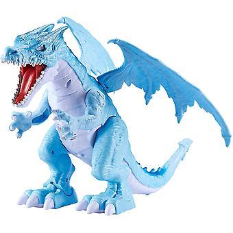 Zuru Robo Alive Ice sprängning rytande drake-blå