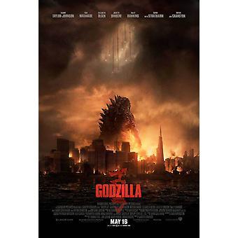 Godzilla Double Sided Original Movie Poster - Regular Style