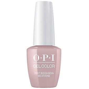 OPI GelColor Gel Color - Soak Off Gel Polish - Dont Bossa Nova Me Around 15ml (GC A60)