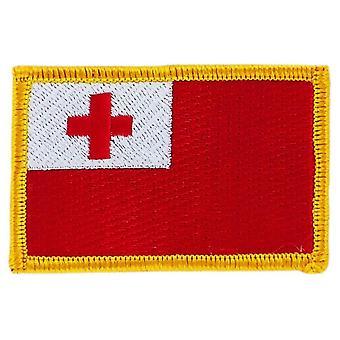 التصحيح التصحيح برودي العلم تونغا تونغا العلم العلم Thermocollant شارة بلاسون