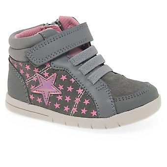 Clarks Clarks Emery Beat Girls Toddler Hi-Top Trainer Boots